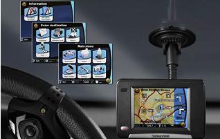 Siemens VDO autonavigatie